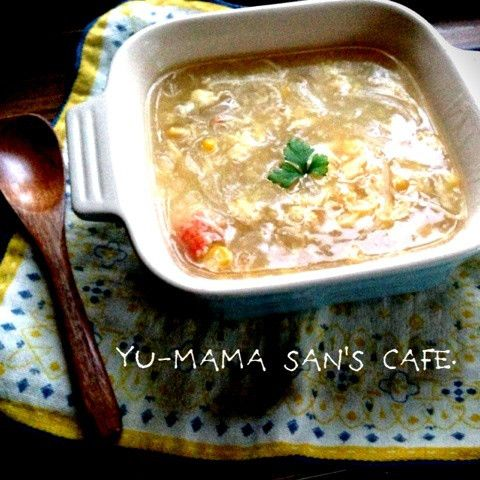 給食風中華コーンスープ