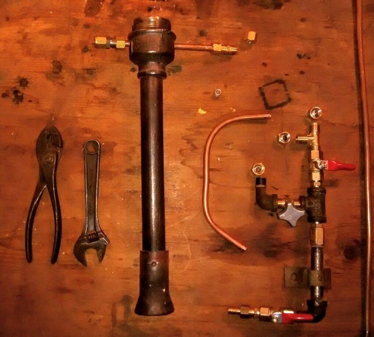 Forge burner - Quemador  para fragua de gas propano