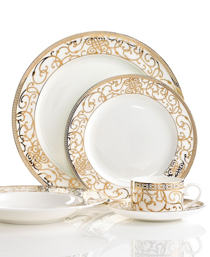 How many dinnerware sets do you need? Check out the different place setting configurations to suit your day-to-day needs with Macy\u0027s guide to buying ...  sc 1 st  Pinterest & 43 best Dinnerware images on Pinterest | Dish sets Painted ...