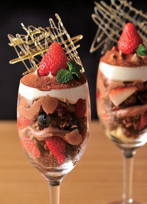 ショコラベリーパフェ