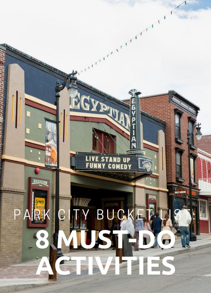The best adventures for your bucket list.#ParkCity #Utah