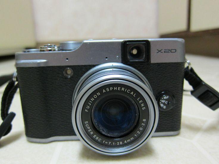 Fujifilm X series X20 12.0 MP Digital Camera - Black Silver - Fujifilm x20 #Fujifilm