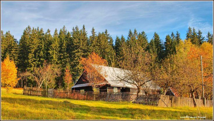 .... horská chalupa v barvách podzimu,od FZ