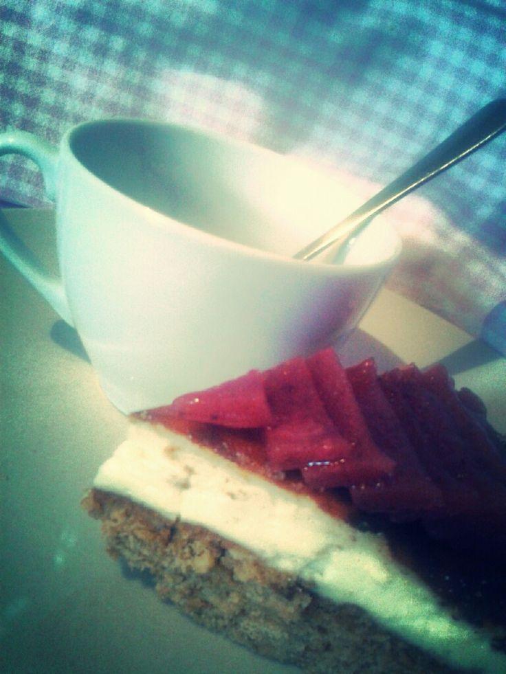 Jahodový cheesecake/ Strawberry cheesecake