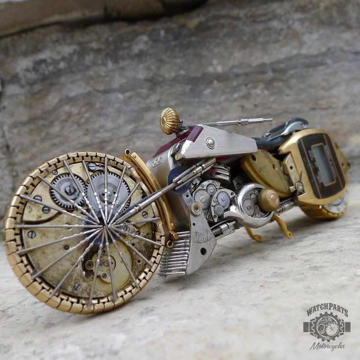 I Turn Old Watches Into Steampunk Sculptures