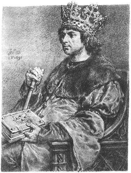 Aleksander Jagiellończyk z łaski Bożej król Polski, a także ziemi krakowskiej, sandomierskiej, sieradzkiej, łęczyckiej, kujawskiej, wielki książę litewski, ruski, pruski oraz Chełmna, Elbląga i Pomorza, etc. pan i dziedzic (ur. 5 sierpnia 1461 roku w Krakowie, zm. 19 sierpnia 1506 roku w Wilnie) – syn Kazimierza IV Jagiellończyka i Elżbiety Rakuszanki, od 1492 roku wielki książę litewski, od 1501 roku król Polski.