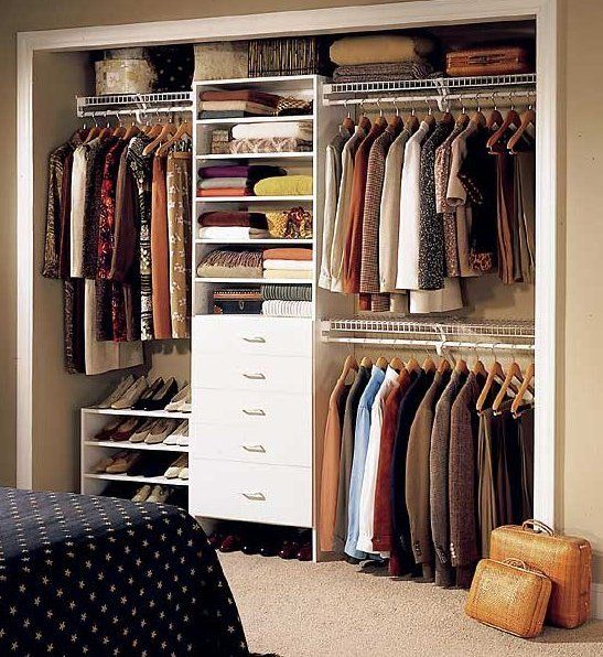 25 best ideas about small closet organization on pinterest small closet design small bedroom - Closet storage ideas small spaces model ...