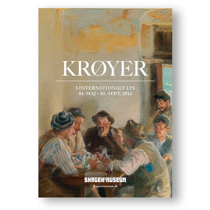 Exhibition poster. KRØYER - An International Perspective 4. May - 2. Sep. 2012. [KRØYER - I internationalt lys]