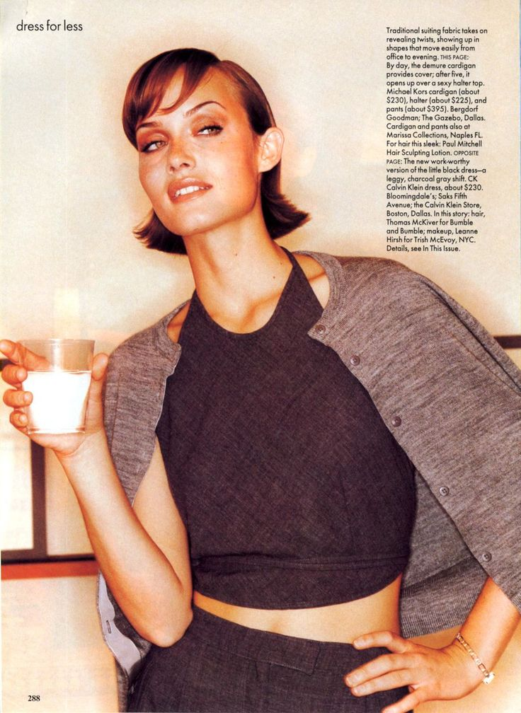 ☆ Amber Valletta | Photography by Pamela Hanson | For Vogue Magazine US | August 1994 ☆ #Amber_Valletta #Pamela_Hanson #Vogue #1994