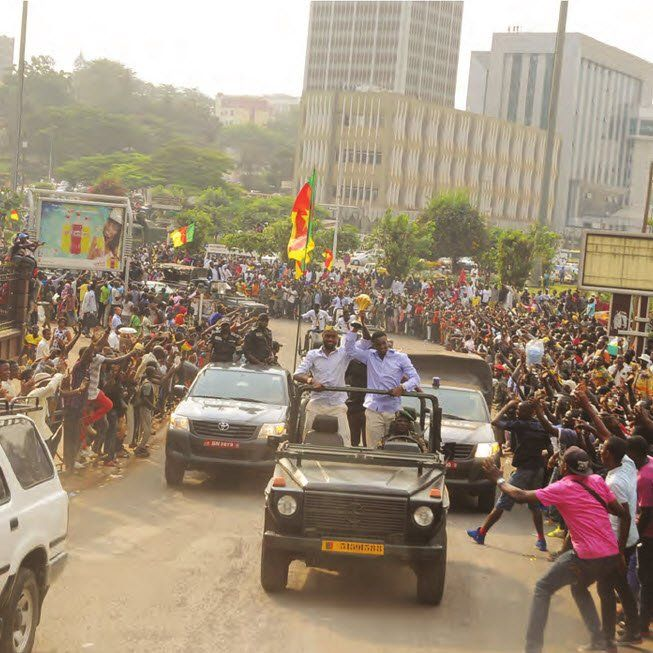 Le joyau sera présenté dans les autres neuf régions du Cameroun en présence de certains joueurs.  Comme une horloge suisse, ils veulent régler cette manifestation