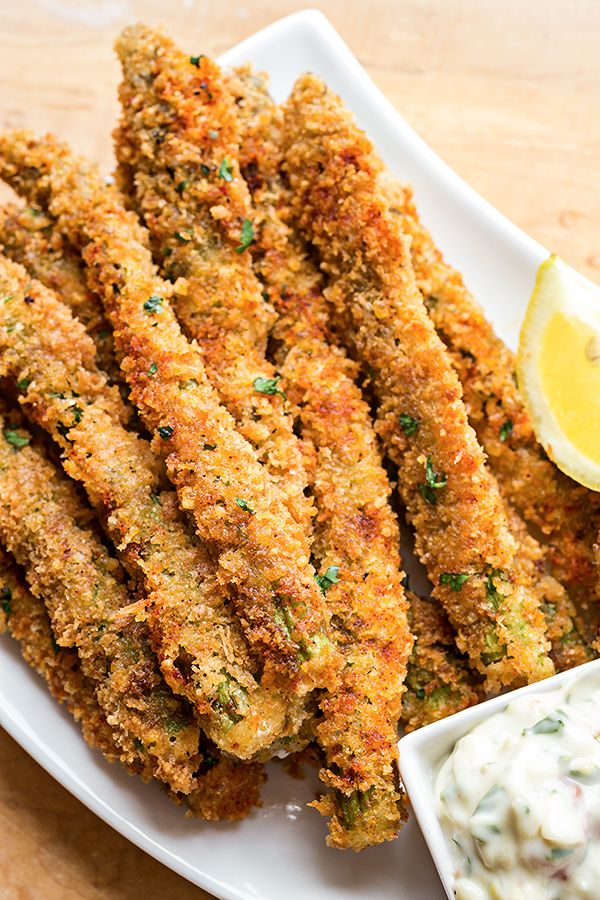 Parmesan Asparagus Spears: Turn up for aioli. - Delish.com