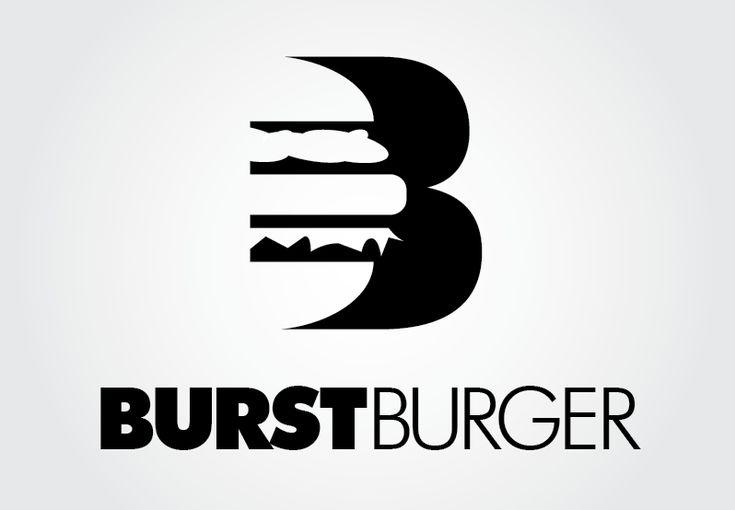 Conceptual logo for an upscale burger restaurant #food #logo #graphicdesign #designcrowd
