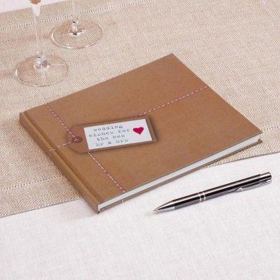 Just My Type gastenboek  op Weddingdeco.nl