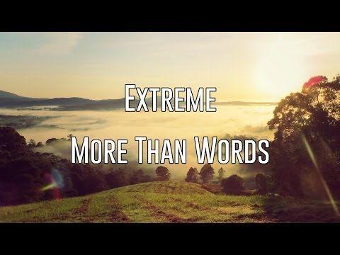Extreme words lyrics