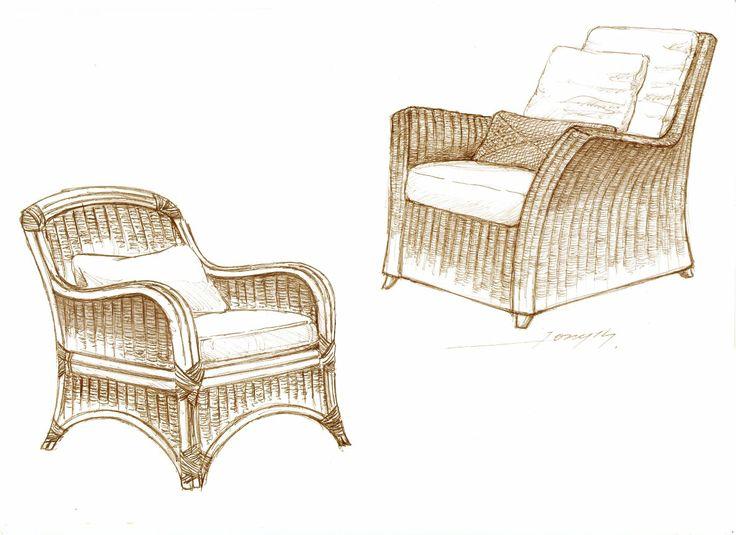 Natural Fiber Furniture Furniture Wicker Chair Decor