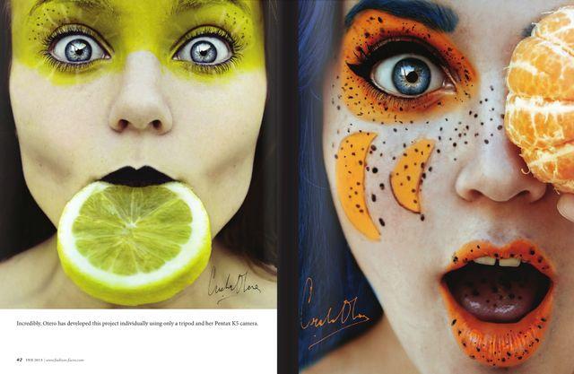 I like the orange lips for a mermaid. Nuvediq Ethnic Beauty's photo pheed
