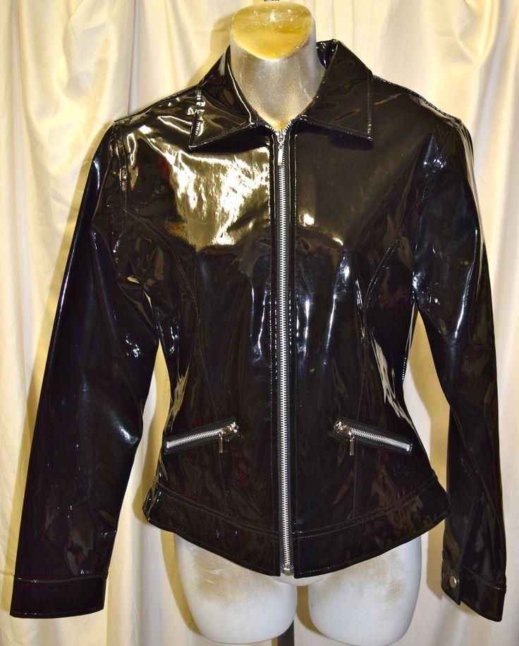 Vintage Wonder Girl PVC Jacket Size P/S