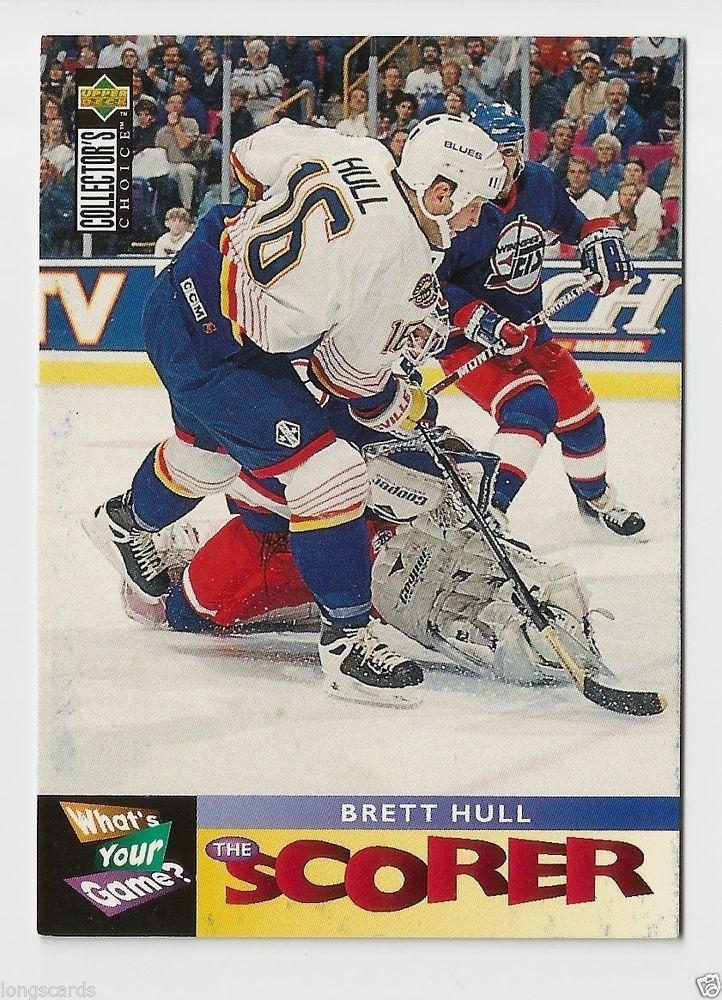 1995 UD CC #364 THE SCORER  BRETT HULL