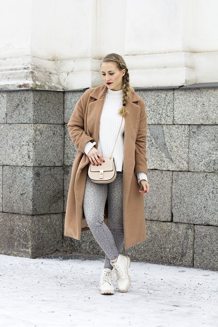 sandraemilia, outfit, braid, leopard, beige, coat 5
