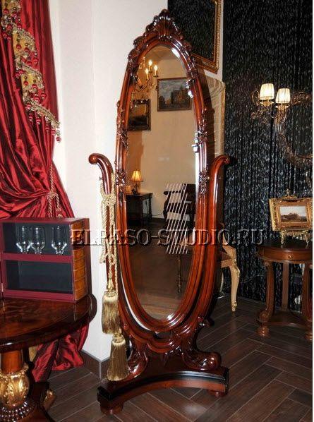 """LEON- мебель из ценных пород древесины: красного дерева, африканского ореха, андаманского падука, цейлонской камфары, индийского палисандра и других пород. Обработка массива производится качественным лаком, который подчеркивает натуральную структуру древесины и демонстрирует благородство и изящество мебели. Студия """"Эльпасо"""" рекомендует серию мебели LEON для роскошных классических интерьеров. http://elpaso-studio.ru/54_leon?"""