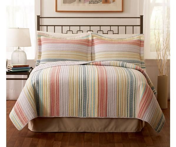 Our Retro Chic Pastel is as comfortable as that favorite pair of blue jeans. The yarn dyed colors woven together give a stylish look that suits you. The casual nature of this pattern assures you a pleasant night and a stylish day.