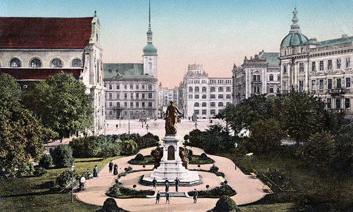 Brno vyhlásilo soutěž na park na Moravském náměstí