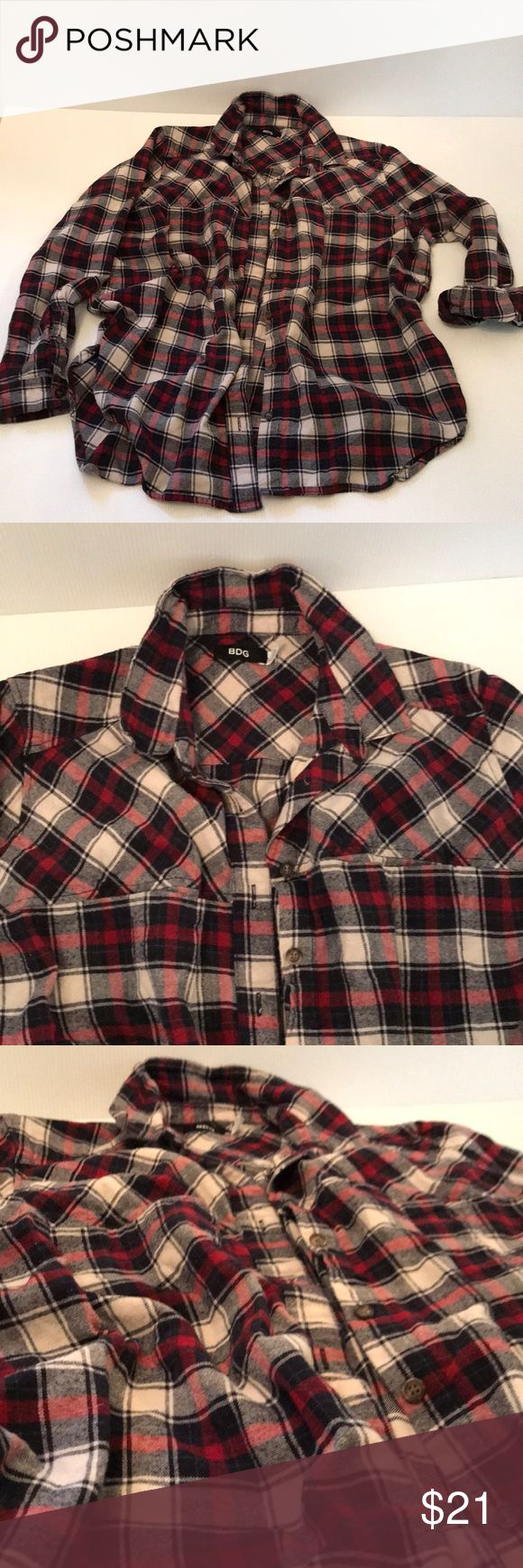 Petite flannel pockets into
