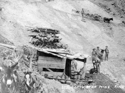 North Star Mine near Silverton by Joseph Collier, ca.1875-1900 :: Western History