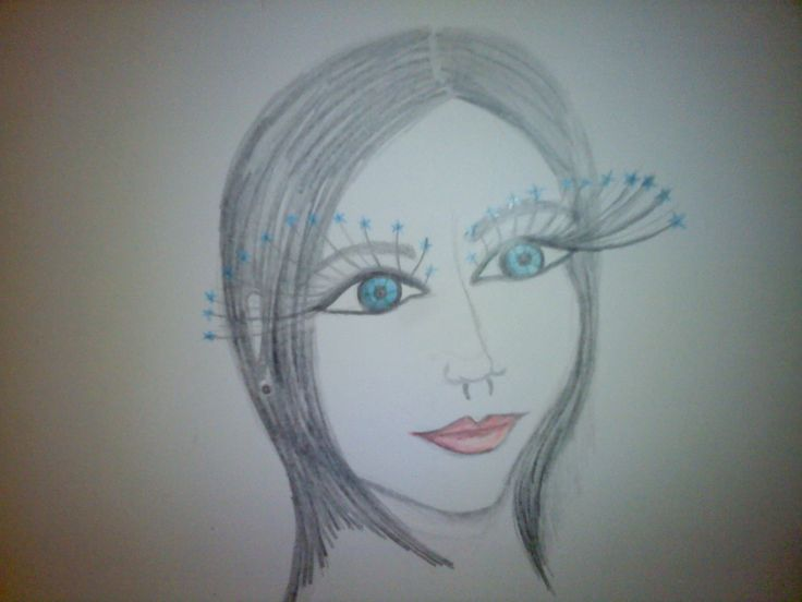 picel drawing of one of my girls