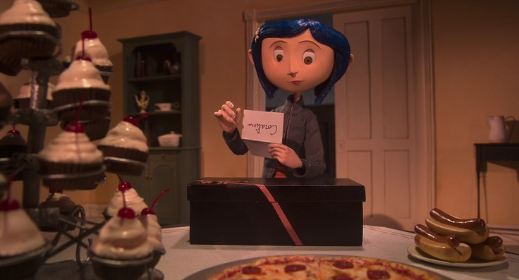 Coraline (2009) Can't help but love this whimsical movie! It's kinda become a favorite!