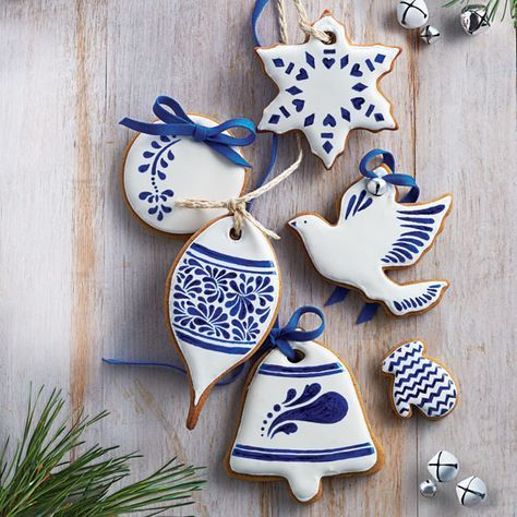 Haven't yet found your perfect gingerbread cookies recipe? Try ours on for taste, and recreate our ornamental icing to make treats that please three senses.