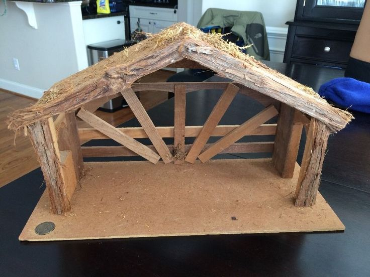 Fontanini Nativity Stable | eBay