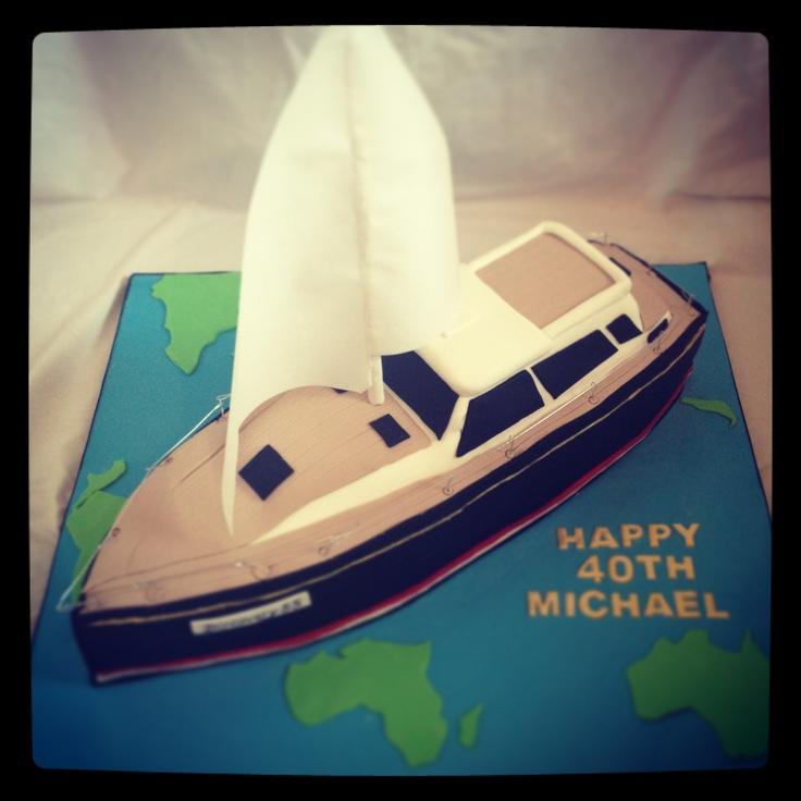 Yacht cake x