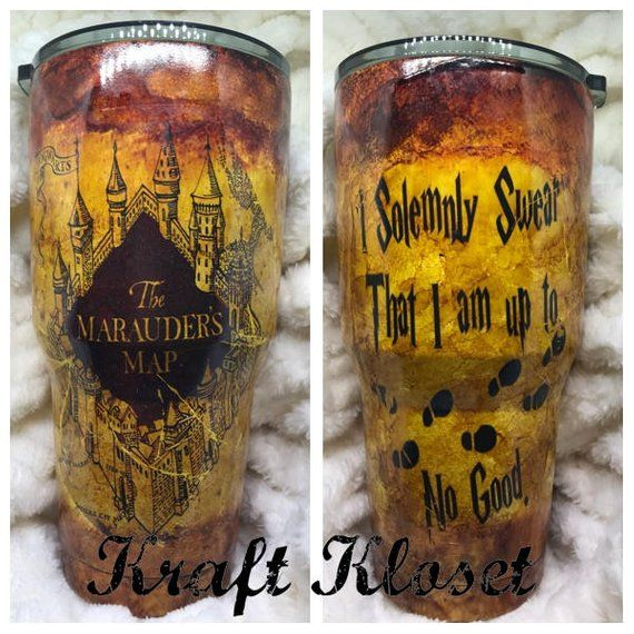 Harry Potter Yeti, Custom Tumbler, Personalized Tumbler