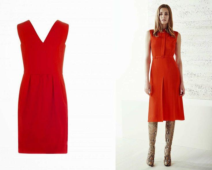 Vestido rojo de Bimba&Lola  #Gucci #inspiration http://cuchurutu.blogspot.com.es/2014/06/gucci-inspiration.html