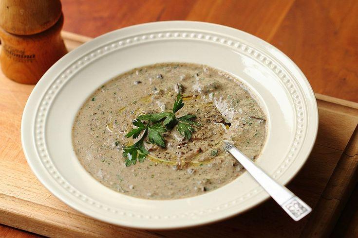 Итальянский грибной суп -