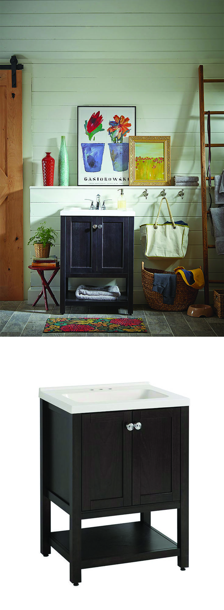 Bathroom Vanities in 3 Unexpected Places. 382 best Bathroom Design Ideas images on Pinterest