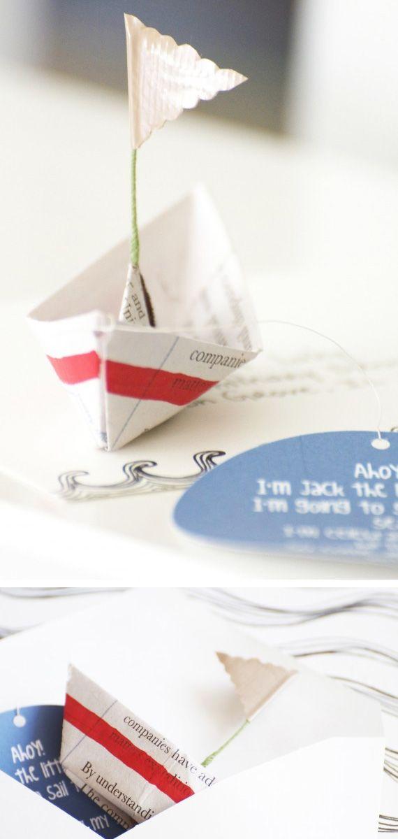 Sail party invites
