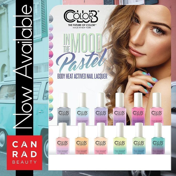 Color Code Mood Changing Nail Lacquer NOW AVAILABLE at CanRad | #ColorCode - - #stylist #nails #lacquer #mood #canrad #beauty #nailart #nailpolish #nail #polish #color #longlasting #nowavailable #toronto#makeover #salon