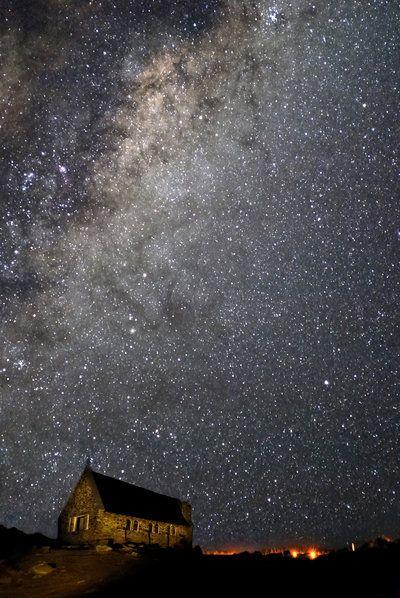 まさに星降る光景。。モンタナ州