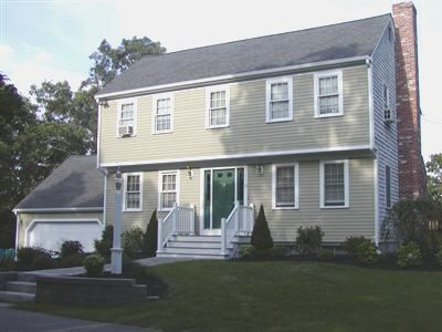Garrison style houses – House of samples