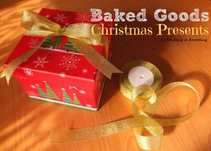 Easy last-minute baked goods Christmas present!  http://www.SomethingOnEverything.com