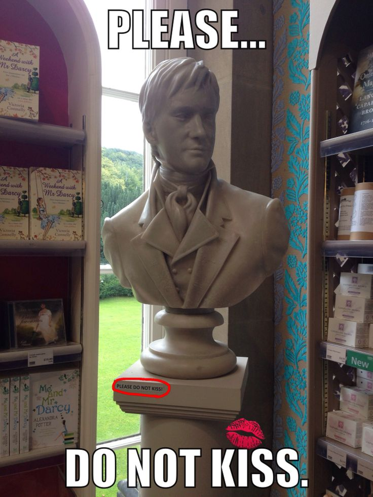 Statue of Mr. Darcy/Matthew McFayden - This was one of the funniest things I saw at the Chatsworth House, aka Pemberley