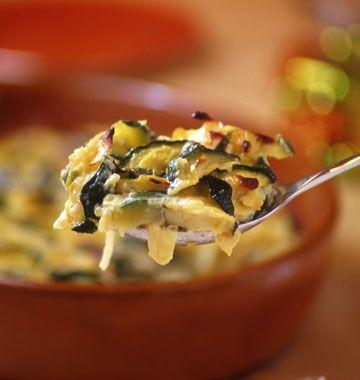 Gratin de courgettes au chèvre, la recette d'Ôdélices : retrouvez les ingrédients, la préparation, des recettes similaires et des photos qui donnent envie !