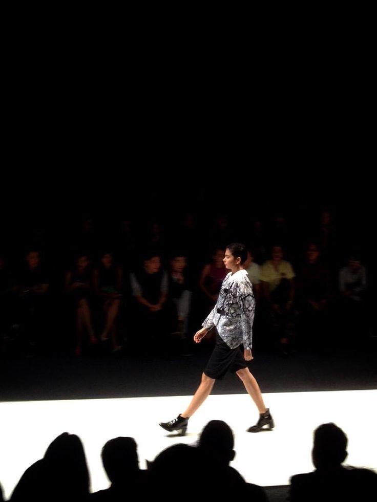 Smile of Disguise by melody utomo putri (@LivensLuna) #jfw2016 #lpm2015 #jakartafashionweek2016   Model : Chloe Clau  #fashiondesigner #fashionshow #highfashion #digiprint #digitalprint #pattern #textile #indonesiadesigner #vscocam #vscophile #vsco #instafashion #l4l #f4f #swag #readytowear #runway #model #catwalk #instanesia #doubletap #fabric #teamlikeback #youcantsitwithus