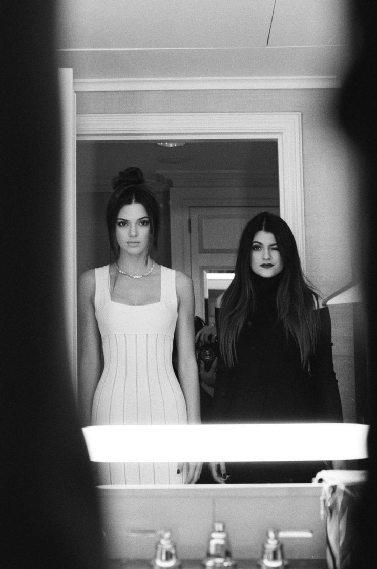 Kylie and Kendall Jenner...Keeping Up With the Kardashians is my guilty pleasure!