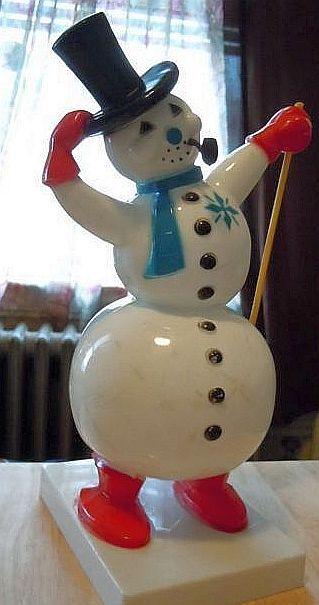 Vintage 1950's Frosty The Snowman.