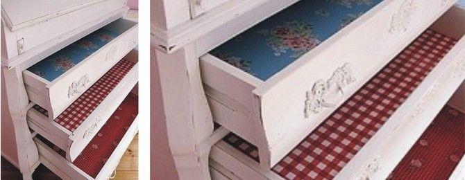 Grote bloemen, kleine bloemetjes, rozen, bloesems... Met plakfolie kun je bestaande meubels een nieuwe frisse tint geven. Gebruik het kastfolie bijvoorbeeld om kast lades een nieuwe look te geven