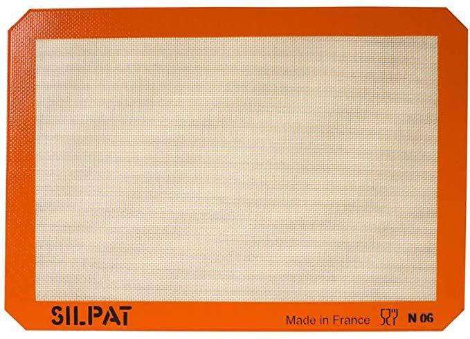 Amazon Com Silpat Premium Non Stick Silicone Baking Mat Half Sheet Size 11 5 8 X 16 1 2 Kitchen Dining In 2020 Silicone Baking Silicone Baking Mat Silpat