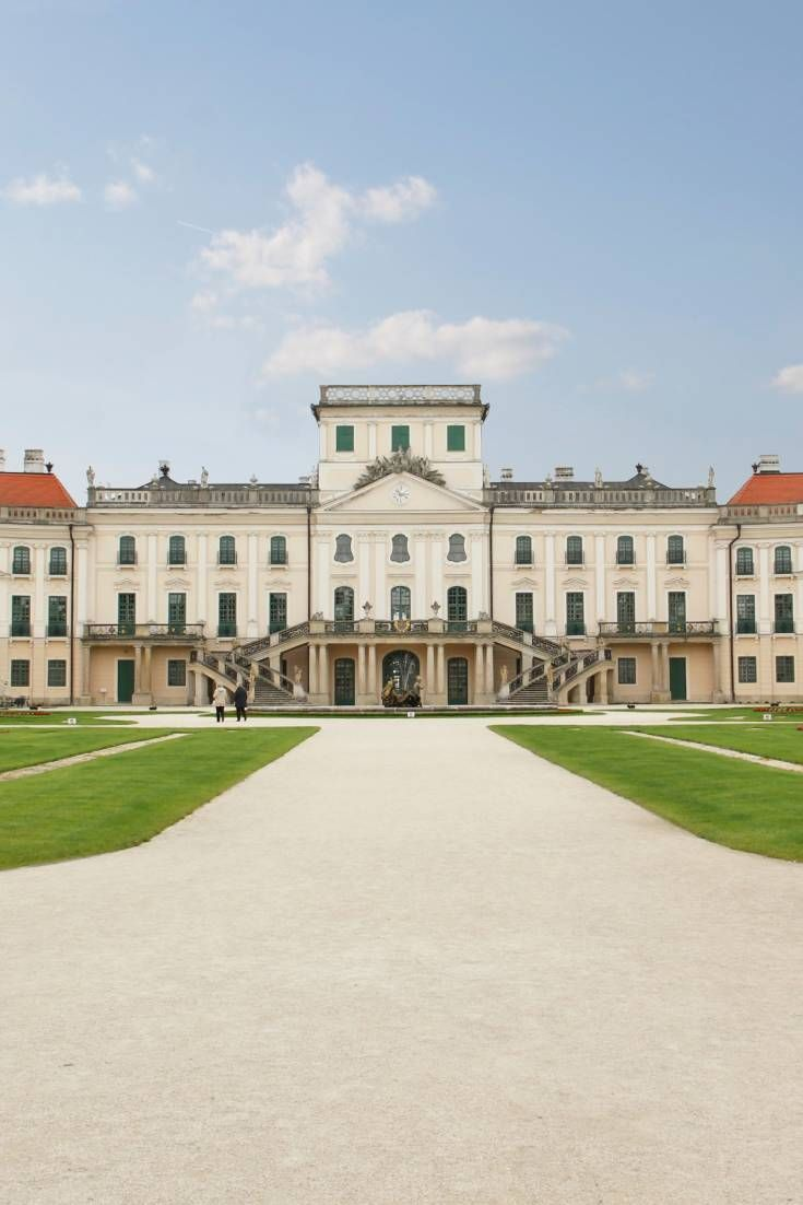 This magnificent rococo palace built by the noble Esterházy family is a perfect location for any European or colonial period piece.